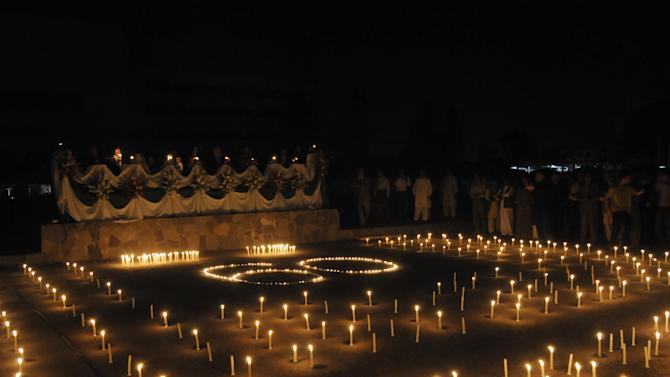 Earth Hour in Islamabad on March 26, 2011