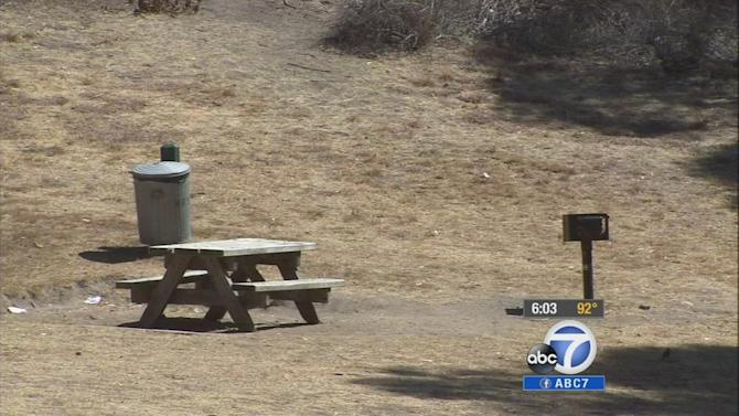 California state parks parched by statewide drought