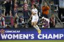 IFLE - In this Oct. 15, 2014, file photo, United States' Abby Wambach celebrates her goal against Trinidad and Tobago during the second half of a CONCACAF Women's Championship soccer match in Kansas City, Kan. The Women's World Cup kicks off in Canada in June 2015 _ and if the favored U.S. squad advances far, expect some more massive TV audiences. (AP Photo/Colin E. Braley)