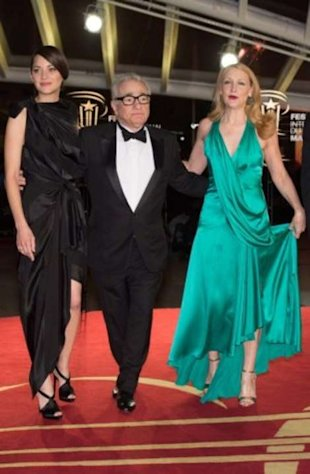 Martin Scorsese, killing it in Morocco. (With Marion Cotillard and Patricia Clarkson at the 13th Marrakech International Film Festival.)