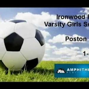 Ironwood Ridge Girls Varsity Soccer vs. Poston Butte  W13-0