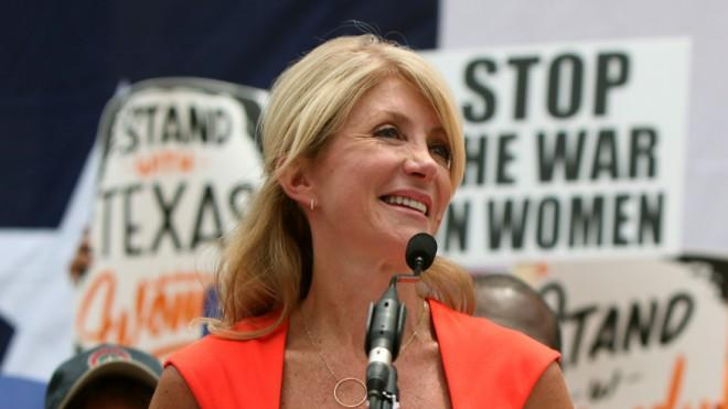 Wendy Davis is just too blue for the big red state.