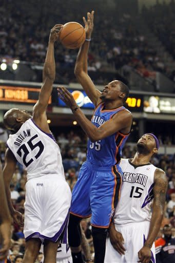 Thunder beats Kings 103-92