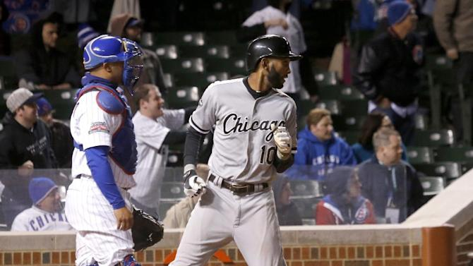 Semien doubles in 12th, White Sox beat Cubs, 3-1