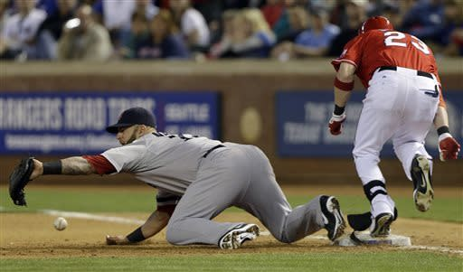 Rangers clinch series over Red Sox with 5-1 win