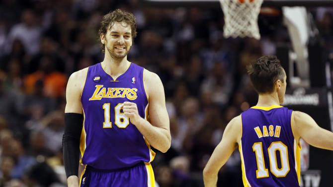 NBA: Playoffs-Los Angeles Lakers at San Antonio Spurs