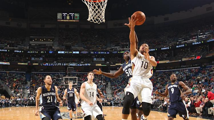 Gordon leads Pelicans past Grizzlies, 104-98