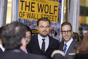 "Cast member Leonardo DiCaprio arrives for the premiere of the film adaptation ""The Wolf of Wall Street"" in New York"