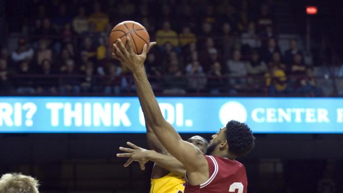 NCAA Basketball: Indiana at Minnesota