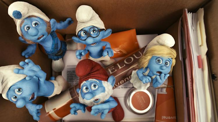 Smurfs 2011 Columbia Pictures