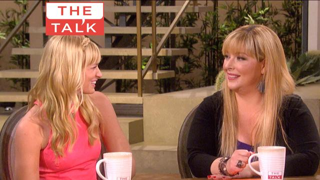 The Talk - Beth Behrs on '2 Broke Girls'
