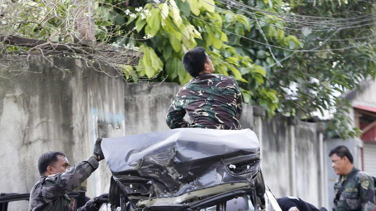 Fighting continues in southern Philippines