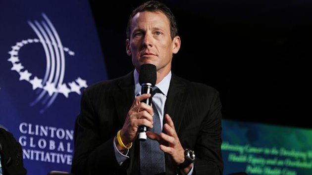 Lance Armstrong, founder of the LIVESTRONG foundation, takes part in a special session regarding cancer (Reuters)