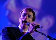 Robin Gibb sings during the Energy Globe World Award ceremony in 2007. Gibb, singer with the legendary British band the Bee Gees, died on Sunday aged 62 after a lengthy battle against cancer, his family said
