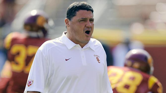 Orgeron making his case for permanent USC job