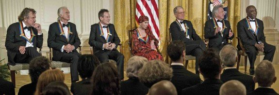Obama Welcomes Kennedy Center Honorees