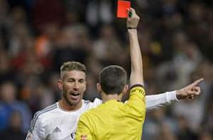 Real Madrid's Ramos red card appeal rejected