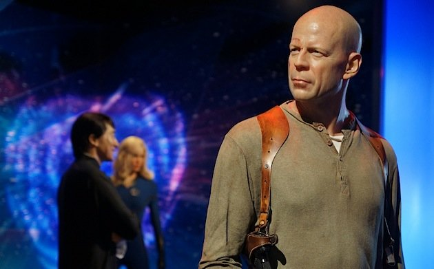 A wax Bruce Willis at Madame Tussauds Hollywood (Photo: Allie_Caulfield / Flickr)