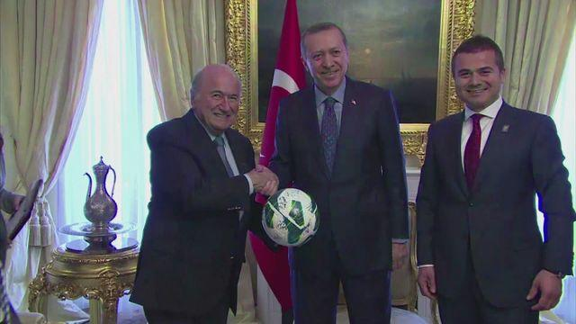 Blatter visits Turkey ahead of U-20 World Cup