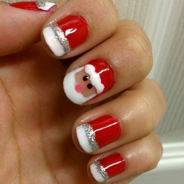 Christmas 2013 Nail Art: 55+ Beautiful And Charming Nail Art Designs
