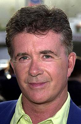 Premiere: Alan Thicke at the L.A. premiere of MGM's Original Sin - 7/31/2001