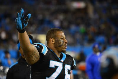 Greg Hardy, NFL officials meeting on Wednesday