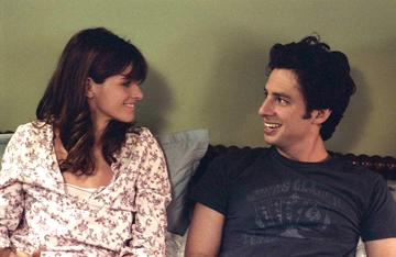 Amanda Peet and Zach Braff in The Weinstein Company's The Ex