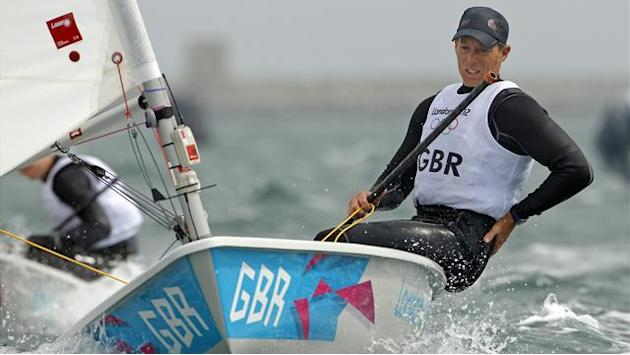 Goodison, Kontides make progress at Olympic regatta