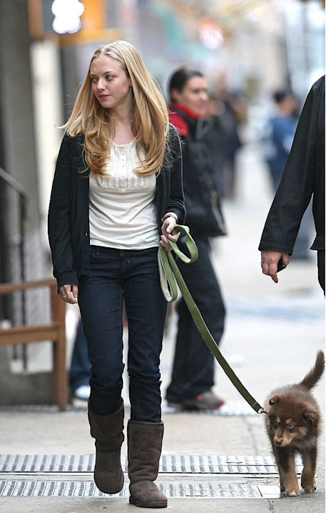 Seyfried Amanda Movie Set