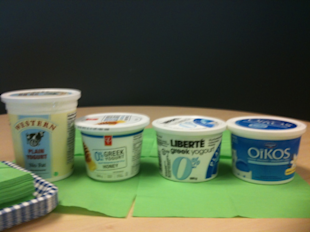 Taste Off: Greek Yogurt!