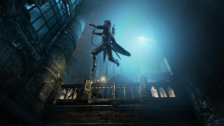 "This publicity photo provided by Square Enix shows a screenshot of a scene from the video game, ""Thief."" (AP Photo/Square Enix)"