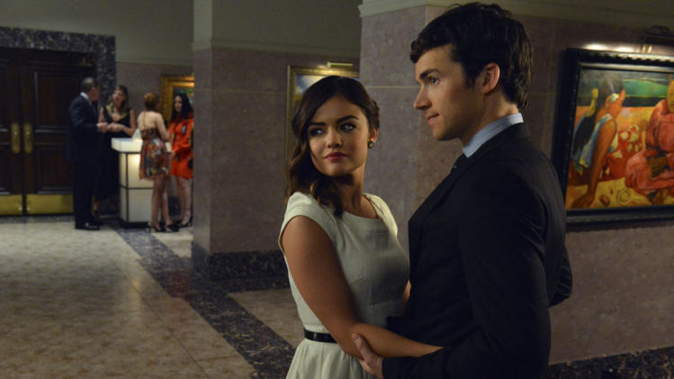 """Pretty Little Liars"" - ""Stolen Kisses"": LUCY HALE, IAN HARDING"