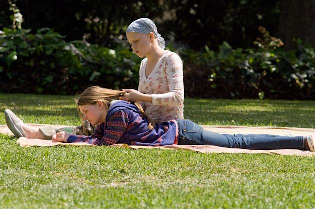 Sofia Vassilieva Abigail Breslin My Sister's Keeper Production Stills New Line 2009