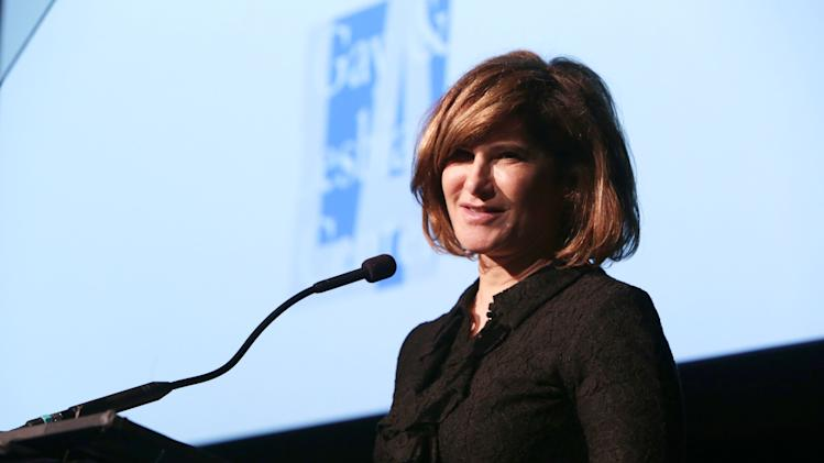 Honoree, Amy Pascal of Sony Pictures Entertainment at The L.A. Gay & Lesbian Center for 'An Evening Honoring Amy Pascal and Ralph Rucci', on Thursday, March, 21, 2013 in Beverly Hills. (Photo by Eric Charbonneau/Invision for  Sony Pictures Entertainment/AP Images)