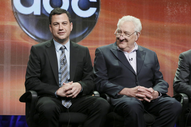 Jimmy Kimmel, left, and Executive …