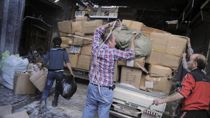 Syria's industrialists join exodus from country