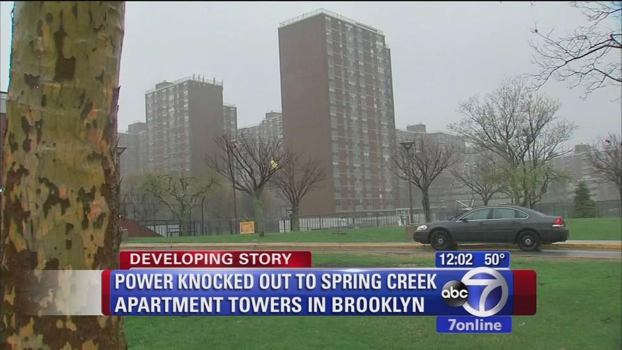 Power restored after outage at Spring Creek Towers apartment complex in Brooklyn