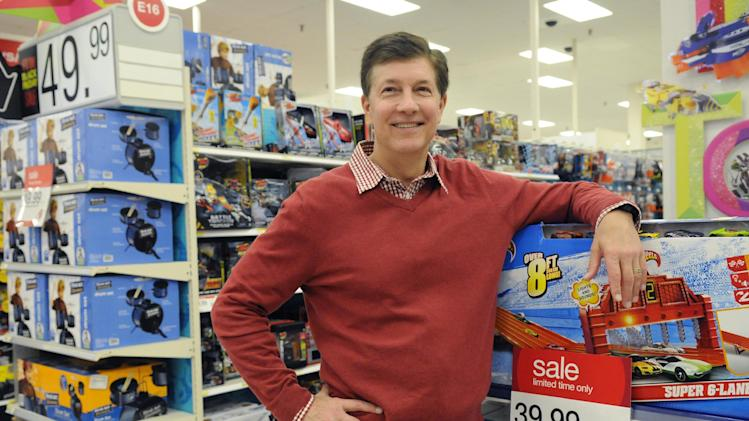 Target CEO Gregg Steinhafel on Nov. 22, 2012