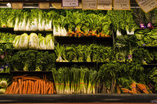 Buy produce in season to keep your wallet and waistline in shape.