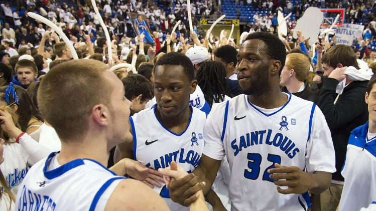 NCAA Basketball: Butler at Saint Louis