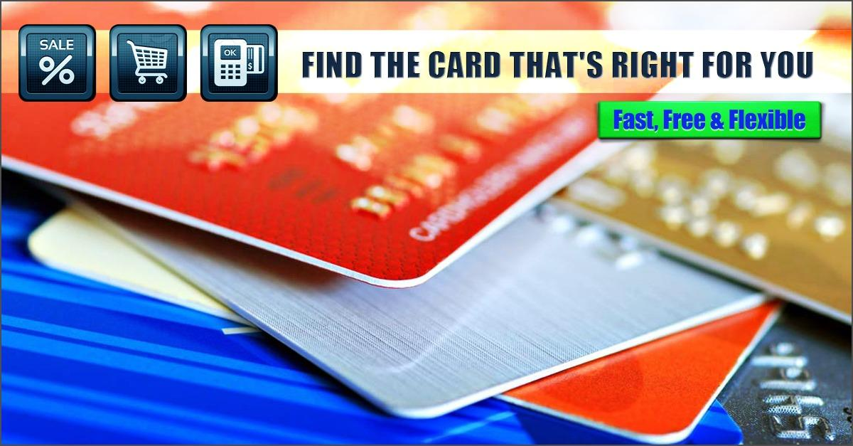Find The Best Credit Card For You
