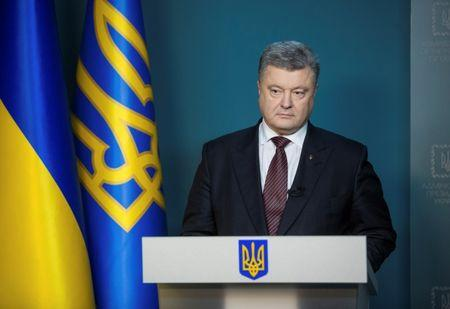 Ukrainian president calls for global response to Russian threat