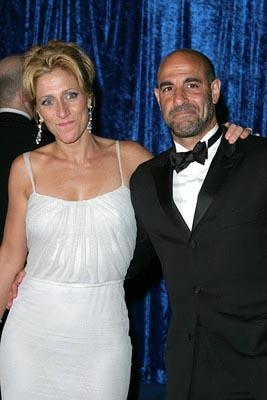 Edie Falco, Stanley Tucci HBO Party 55th Annual Emmy Awards After Party - 9/21/2003