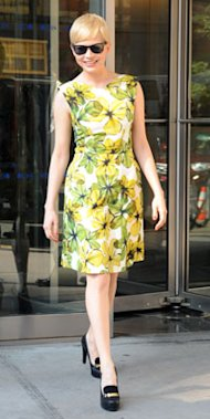 This Week's Top Fashion Trends: From Katie Holmes In Neon To Michelle Williams In Floral