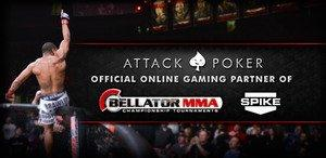Attack Poker Becomes Official Online Gaming Partner Of Bellator