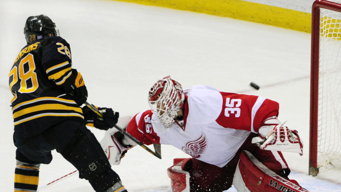 Girgensons, Ennis lift Sabres to SO win over Wings