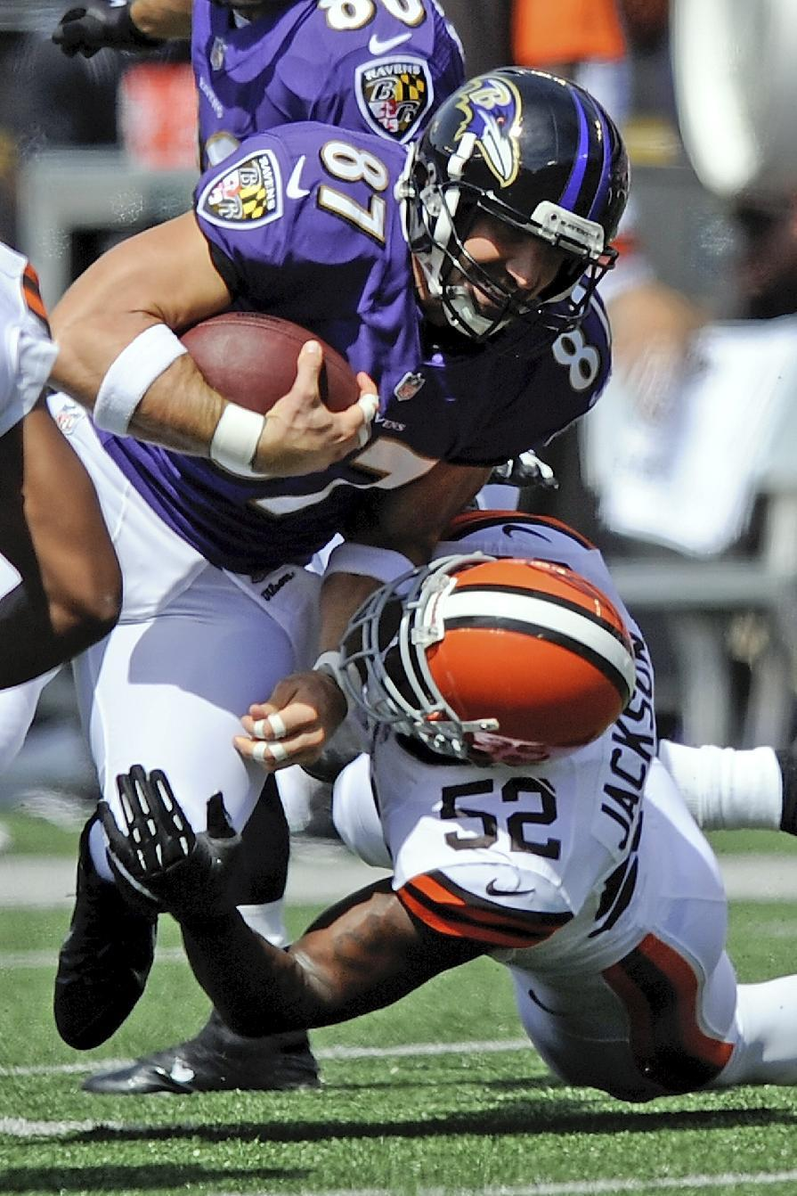Ravens rely on defense in 14-6 win over Browns