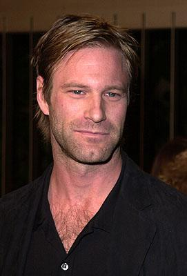 Aaron Eckhart at the Los Angeles premiere of Warner Brothers' The Pledge
