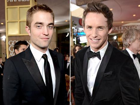 Robert Pattinson vs Eddie Redmayne at the Golden Globes: Who's Hotter?