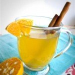 Mulled Cider With A Green Tea Twist